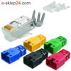 J00026A0165 - wtyk RJ45 FTP kolor - Telegartner