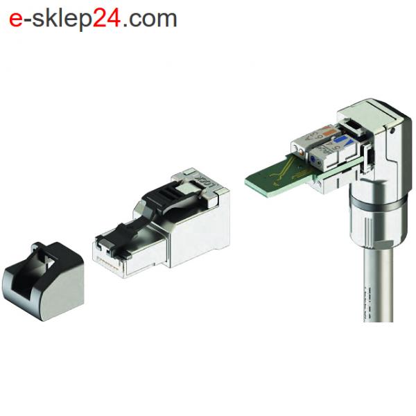 J00026A4001 - elementy wtyku RJ45 - Telegartner
