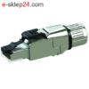 J00026A5001 - wtyk RJ45 kat.6a z dławicą - Telegartner