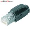 J80026A0001 - wtyk RJ45 kat.6a STX IP20 - Telegartner