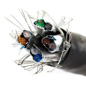 Kabel linka kat.7 S/FTP LSOH kolor czarny – Telegartner