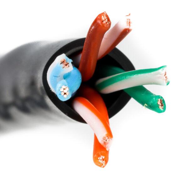 L02002A0056 Kabel linka kat.5e UTP - Telegartner