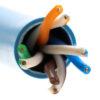 L02002A0262 Kabel drut kat.6 UTP - Telegartner