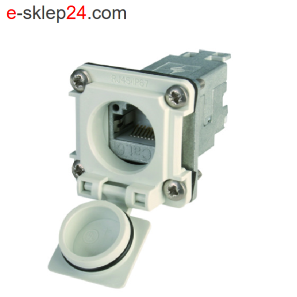 J00020A0483 - STX V6 łącznik RJ45 IP67 - Telegartner