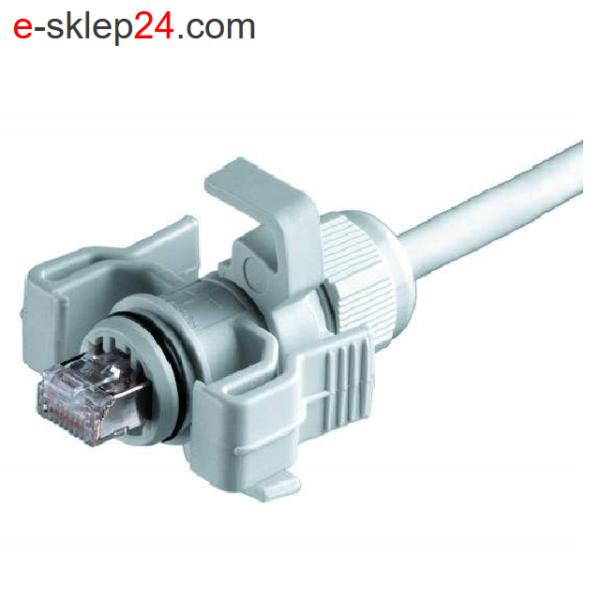 J00026A0150 STX V6 IP67 wtyk RJ45 kat.6A - Telegartner