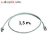 L00001A0090 patchcord 1,5m szary ftp telegartner