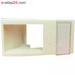 Adapter kątowy DataGate – mod mosaic 45×22,5 z polem opisowym – Molex