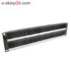 "PID-00142 panel 19"" 48xRJ45 DG+ kat.6 2U Molex"