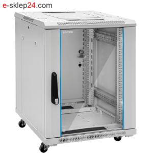 Szafa serwerowa 15U G7 600 drzwi szklane – TOTEN
