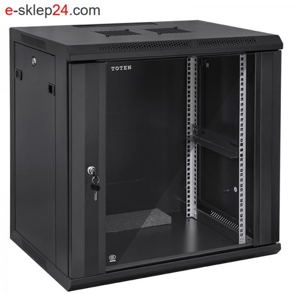 Szafa rack 15U 450x600 czarna