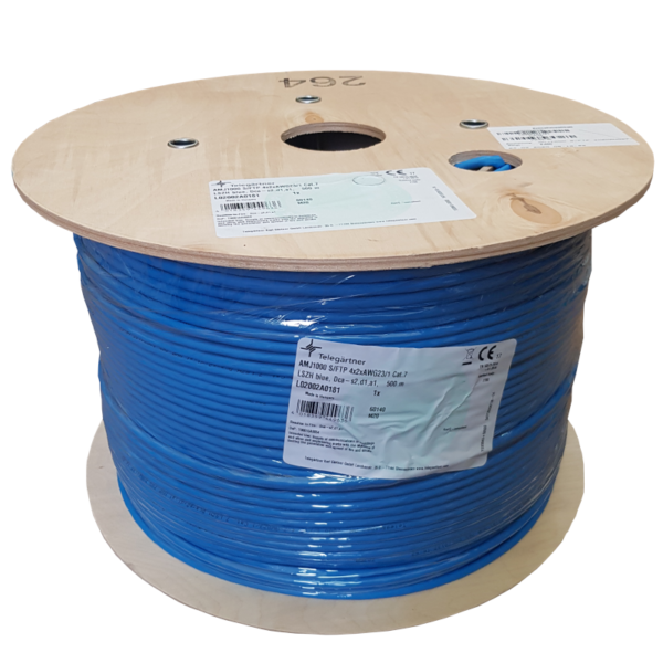 L02002A0181 Kabel drut kat.7 S/FTP bęben - Telegartner