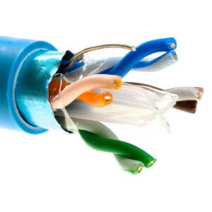 Kabel drut kat.6 F/UTP LSZH – Telegartner