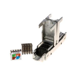 Łącznik skrętki kabla sieciowego kat 6 FTP