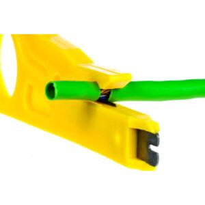 Ściągacz izolacji wciskacz skrętki komputerowej UTP/STP
